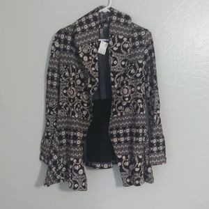 Free People floral vintage coat size S